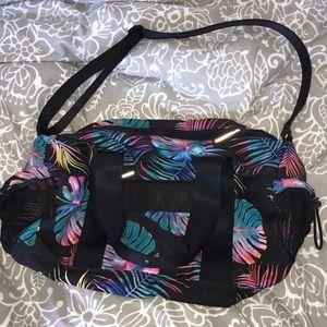 Pink Victoria Secret gym bag
